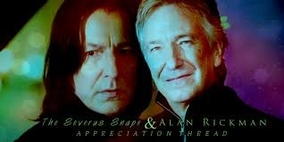 Professor snape played kwa Alan rickman he was my fav actor