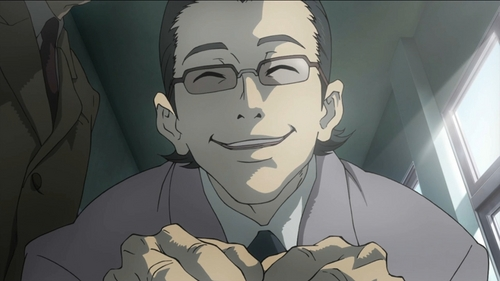 "hi im Tsunenaga Tamaki from deadman wonderland... ""DID あなた know カラス even has biceps on his cock""(so they say)"