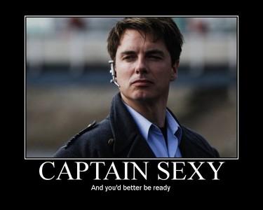 John Barrowman as Captain Sexy :)