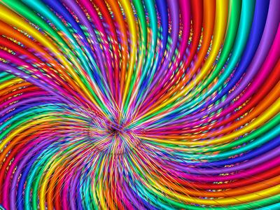 ... rainbow...