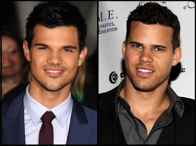 a lot of people think they look alike but i do not think so for the fact Taylor is so much hotter