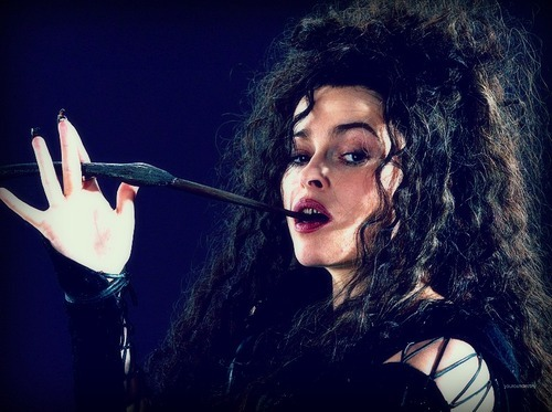 Bellatrix, I cried for her death. No I don't want to kill Bellatrix...