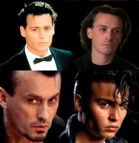 Rob sometimes resembles Johnny Depp