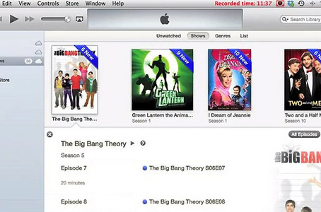 You will first need to convert your TV shows or movies