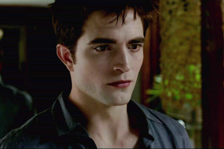 my Robert(as Edward) worried about Bella being pregnant in BD part 1.
