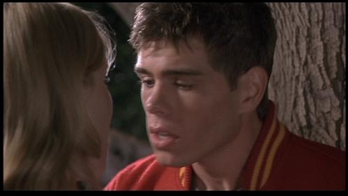 Matthew going for a kiss. :P