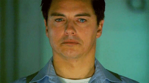 John Barrowman as Captain Jack Harkness in Torchwood Children Of Earth :'(