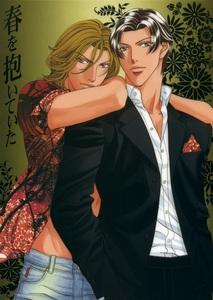 katou and iwaki-san from haru wo daiteita ^.^