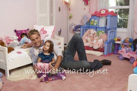Justin and his daughter Isabella