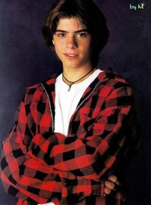 Matthew in teen years. <3333