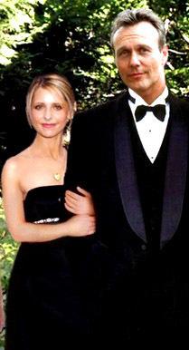 Tony and Sarah Michelle Gellar