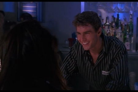 Tom cruise when he was in cocktail he was so cheeky and cute <3