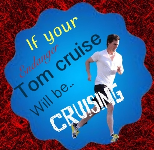 Couldn't find any Tom cruise badges I liked so I made my own on my phone, hope wewe guys like it was hard to put it together