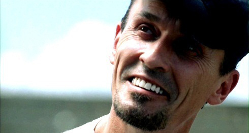Knepper's flawless teeth