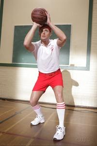 Jensen as a gym teacher on Supernatural. If only my gym teachers would've been as hot as him...