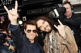 Tom cruise and Russell
