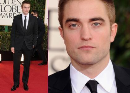 there haven't been too many pics of my Robert so far this year,because he is in Australia filming a movie.This is from last bulan at the Golden Globes,where he was a presenter.It was his last appearance in the US before heading down under<3