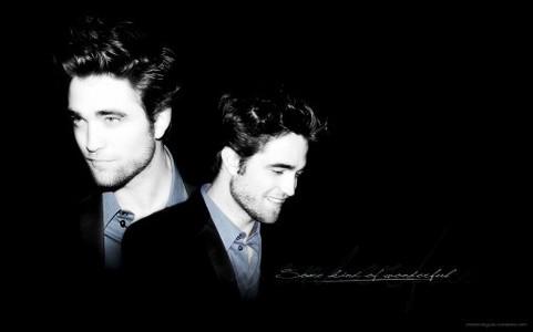 my Robert against a dark background<3