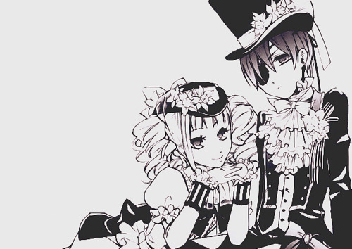 i am gonna say my two couples which is ranma and akane but my fav is ciel and lizzy from black butler