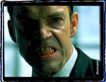 Hugo`s Agent Smith Snarl.