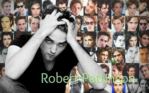 a collage of my beautiful,handsome,sexy Robert.If only there could be this many Robert Pattinsons<3