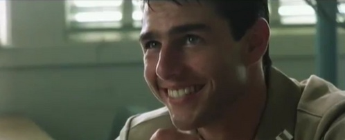 There's loads of great smiles from Tom cruise I could pick but this one tugs at my heart strings so cute <3
