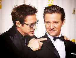 Robert Downey Jr. and Jeremy Renner. I'm comin 4 u.