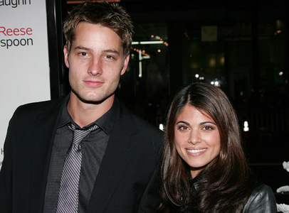 "Justin and Lindsay, back when they were still an item (Premiere of ""Four Christmases"")"