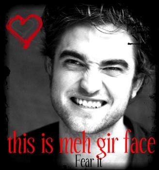 my Robert making a funny growl face.Very adorable growly face,Robert---I প্রণয় it!!!<3