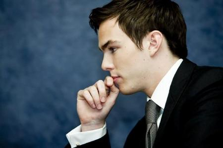 Nicholas Hoult from Warm Bodies and the upcoming Jack the Giant Beanstalk Slayer(i think that's the title of the movie)
