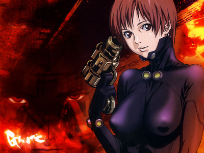 out of every animê i can think of watching, Kei Kishimoto, from Gantz, is the character i hate the most! (really not anything i liked about this anime) i amor this pic cuz it looks like she's fix'n to put herself out of her own misery *evil exaggerated laugh~~* (i deleted this pic right after posting)