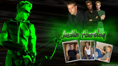 A wallpaper of Justin (sadly not made da me)