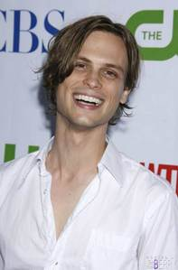 Matthew Gray Gubler...hence my icona that I haven't changed since I joined fanpop ;) Here's another sweet pic...