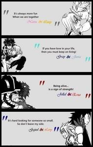 I really 愛 fairytail qoutes it makes me cry :)