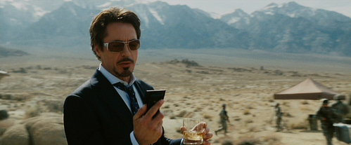 Mr. Stark with a phone! :)