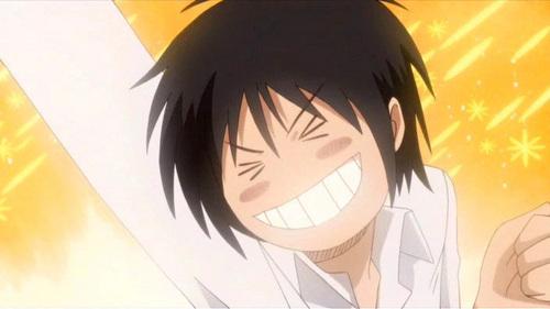 Shinobu Morita But he does have his mature moments