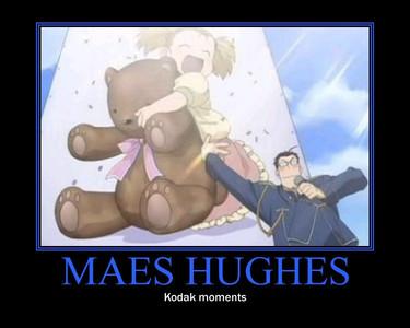 Maes Hughes does, I think thats why I like him:)!