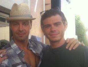 Matt and Joey Lawrence. :)