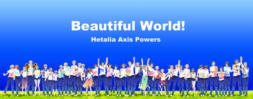 I have many but, hetalia - axis powers is my most favorite~