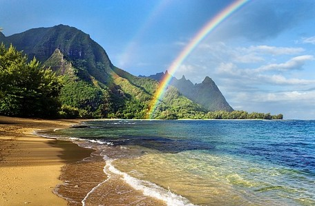 .....A trip to Hawaii o_o No but really! I just found out me and my family are going on a vacation to Hawaii suivant month! =D Can't wait!