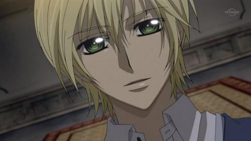 Ichijou Takuma - Vampire Knight he is an avid mangá reader