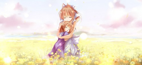 Clannad and Puella Magi Madoka Magica , hell they made cry so much i wasted a whole pack of tissues after only 10 episodes! XD