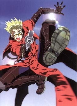 -Vash the Stampede from Trigun (picture) -Joseph Jobson from Blassreiter -Yukito Kunisaki from AIR TV -Ichimoku Ren from Jigoku Shoujo