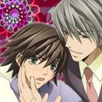 My icon! <3 Junjou Romantica! (AkihikoXMisaki) :)