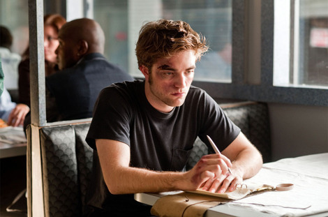 my Robert,in Remember Me,writing in his journal<3