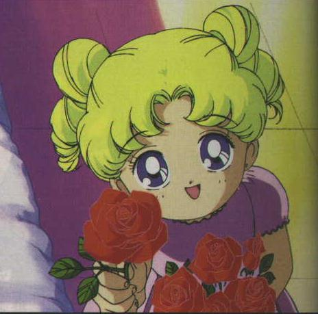 Serena from Sailor Moon.