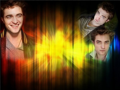 my Robert with a very colorful background<3