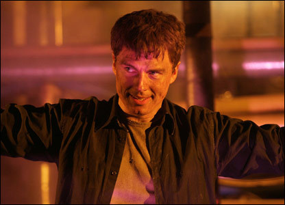 John Barrowman as Captain Jack Harkness♥ He was getting tortured によって The Master :'(