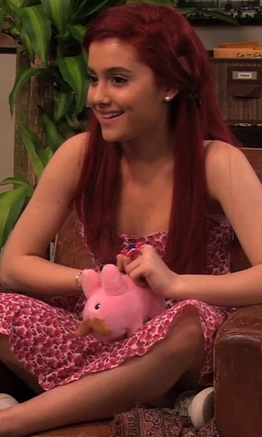 Okay here's a picture of Ariana/Cat!