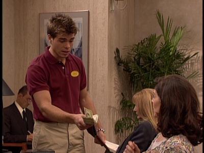 Matthew holding money. :)